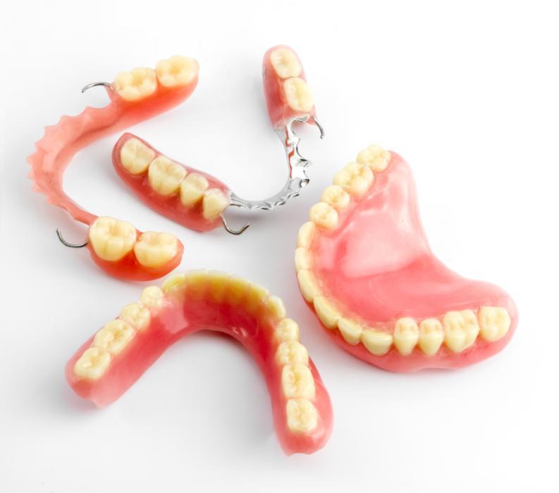 temporary partial dentures