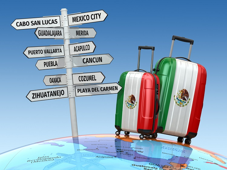 how to travel to mexico